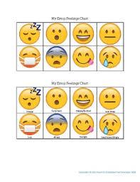 Feelings Chart Emoji Emoji For Characters Feelings Worksheets Teaching