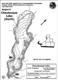 Long Lake Ny Depth Chart Chautauqua Lake Nys Dept Of Environmental Conservation