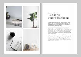 free magazine layout template design a magazine like kinfolk free template