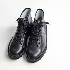 italian leather monkey boots genuine leather factory releasing article men made in czech