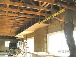 Plafond Suspendu En Lambris Bois