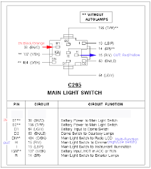 chevy headlight switch wiring diagram efcaviation com universal headlight switch standard at Universal Headlight Switch Wiring Diagram