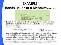 discount on bonds payable balance sheet chapter 10 long term liabilities ppt download