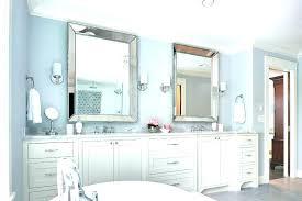 master bathroom vanity mirrors double mirror for bath9