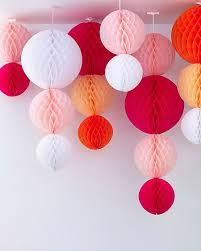 How To Make Paper Balls For Decoration Classy 32 DIY Tissue Paper PomPoms Halloween Pinterest Tissue Paper