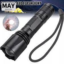 MAV Đèn Pin LED Đèn Pin Có Thể Phóng To Đèn Cầm Tay Bỏ Túi Lấy Nét Siêu Sáng  Điều Chỉnh Được Để Cắm Trại Chó Đi Bộ Đường Dài