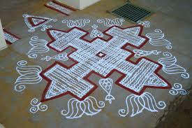 Step By Step Kolam Designs With Dots Kolam Wikipedia