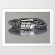 personalized mens gps latitude longitude coordinates leather bracelet custom leather wrist band art print