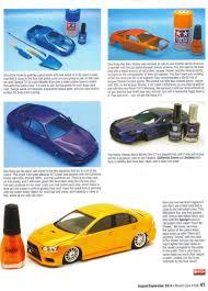 painting cars with nail polish