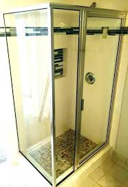 glass shower doors sliding glass shower doors half wall bathtub enclosures glass shower door seal