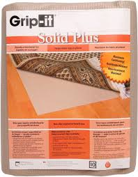 grip it cushioned non slip rug pad for rugs on hard surface floors 12 by 15 feet souq uae