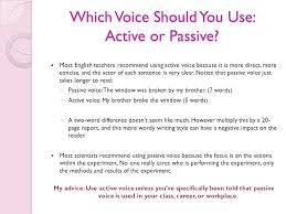 Active And Passive Voice Ppt Video Online Download