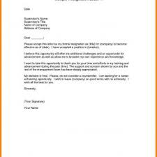 Resignation Letter Format To Manager Fresh Simple Resignation Letter ...