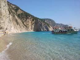 Paleokastritsa Paradise Beach Photo from Liapades in Corfu