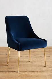 Best 25 Blue Velvet Dining Chairs Ideas On Pinterest Dinning