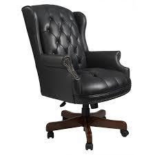 Classic office chairs Luxurious Office Full Size Of Seat Chairs Classic Executive Office Chairs Black Leather Upholstery Tufted Button Aitonic Classic Executive Office Chairs Black Leather Upholstery Tufted