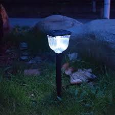 solar lights outdoors led square circle