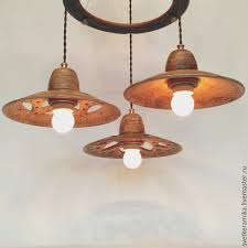 order ceramic chandelier with three shades wind of change