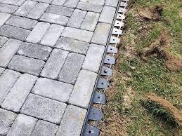 paver walkway diy concrete pavers