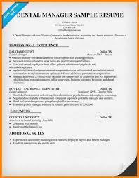 12 Dental Office Manager Resume Business Opportunity Program