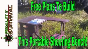 Diy Shooting Bench  Diy Do It Your SelfPlans For Portable Shooting Bench