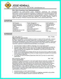 Cover Letter Entry Level Construction Management Milviamaglione Com