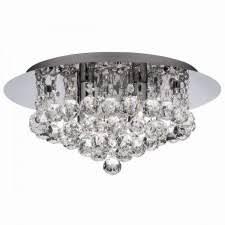 bathroom ceiling lights. quick view decorative bathroom flush ceiling light 4 chrome crystal glass ip44 lights d