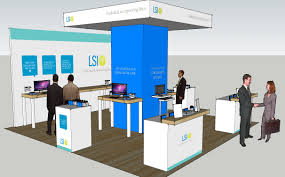 Trade Show Displays Charlotte Nc Lsi Trade Show Pieces Moonlight Creative Group Charlotte Nc