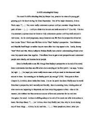 a mockinbird essays to kill a mockingbird essays gradesaver