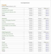 free family budget worksheet family budget spreadsheet best of sample bud worksheet free vacation