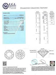 Ring Color And Clarity Chart White Gold 1 57ct Si3 Clarity E Color Center Diamond 2 33ctw Diamonds Egl Ring 78 Off Retail