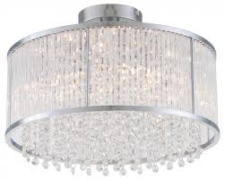 16 semi flush mount dvp8512chcry the lighting gallery