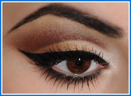 makeup tips for brown eyes step by step