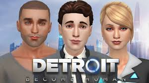 DETROIT: BECOME HUMAN - The Sims 4 | Create A Sim - YouTube