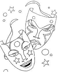 Maskers Teatro Mardi Gras Float Comedy Tragedy Masks Mardi Gras