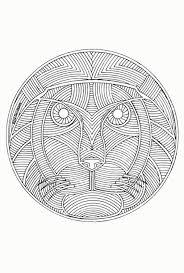 Kleurplaat Mandala Dieren Fris Dieren Mandala Kleuren Archidev In