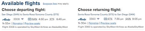 Sonoma County Fair Seating Chart My New Favorite Alaska Airlines Route Santa Rosa Sonoma