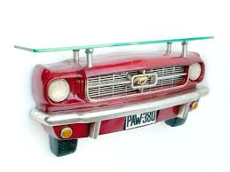 ford mustang decor ford mustang car wall shelf ford mustang garage decor