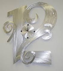 Small Picture clockclockscontemporary wall clocksbrushed aluminum clocks and