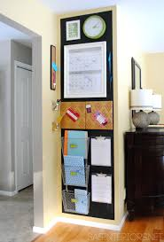 kitchen office organization ideas. 9 Ideas To Steal From The Awesome Family Command Centers - Mixed Media. Organization WallOffice OrganizationOrganization IdeasKitchen Kitchen Office