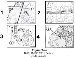 tech tip 199 deutz engine serial number location made easy foley figure two displayed below shows the four serial number locations on deutz 1011 1011f and 2011 engines