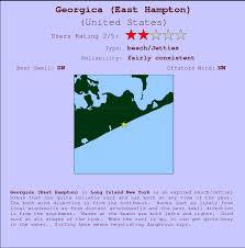 Georgica East Hampton Surf Forecast And Surf Reports Long