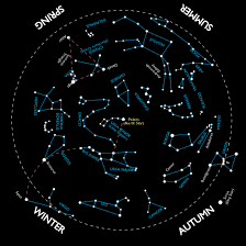 Star Chart Png Simple Constellation Map For Kids Star Chart For The