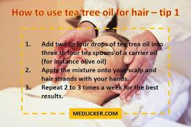 carrier oils for hair. how to use tea tree oil for hair carrier oils