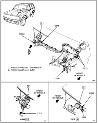 chevy s blazer tranny not shifting and spedo dont work vss graphic