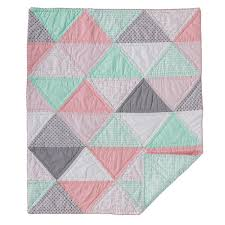 Amazon.com : Lolli Living Sparrow Cotton Filled Comforter ... & Amazon.com : Lolli Living Sparrow Cotton Filled Comforter - Triangle -  Colorful, Modern Cotton Comforter, Lightweight And Soft Baby Blanket For  Crib, ... Adamdwight.com