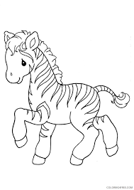Learn and enjoy coloring activity. Baby Zebra Coloring Pages For Kids Coloring4free Coloring4free Com