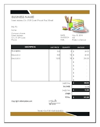 Free Plumbing Invoice Template Awesome Bill Template Plumbing Invoice Template Water Bill Template Pdf