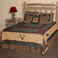 Cabin Bedding - Rustic Bedding - Lodge Quilts - The Cabin Shop ... & Deer Trail Quilts Adamdwight.com