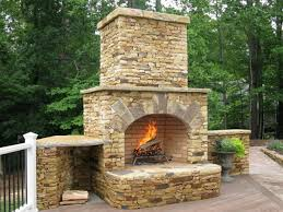 outdoor fireplace ideas design